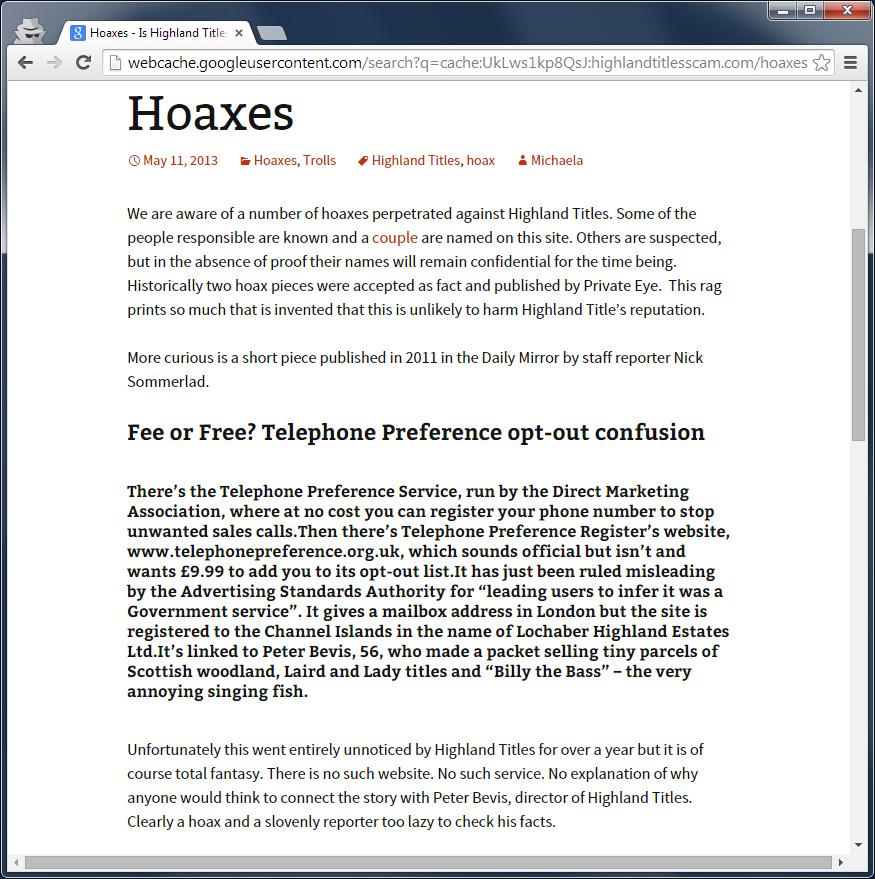 2015-01-30 mirror hoax nick sommerlad